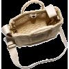 The Mini Straw Tote Bag - Hand bag -
