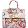The Studio Floral Print Leather Top Hand - Kleine Taschen -
