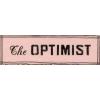 The optimist - イラスト用文字 -