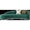 The sofa and chair company teal sofa - Furniture -