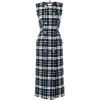 Thom Browne Tartan Check Cardigan Dress - Dresses -