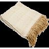 Throw Blanket Beige - Furniture -