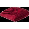 Throw Blanket Red - Animali -
