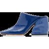 Tibi Leon Patent Leather Mules - Klasični čevlji -
