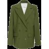 Tibi Tropical Wool-Blend Blazer - Marynarki -