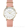 Tic Watches Gold & Pink Leather Watch - Satovi - £80.10  ~ 669,52kn