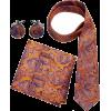 Tie pocket square set (Peach Couture) - Tie -
