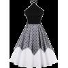 Tiered Pullover Sleeveless - Vestidos -