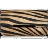 Tiger Print Clutch - Clutch bags -