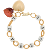 Timeless Pearly Love chain-link bracelet - Braccioletti -