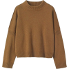 Toast Wool Cotton Easy Pullover - Pullover -