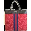 Tommy Hilfiger Large Tommy Tote Handbag, Large Logo, Red - 手提包 - $79.98  ~ ¥535.89