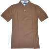 Tommy Hilfiger Men Custom Fit Polo T-shirt Brown - T-shirts - $44.99  ~ £34.19