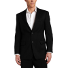 Tommy Hilfiger Men's Two Button Trim Fit 100% Wool Suit Separate Coat Black pin stripe - Suits - $124.70