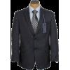 Tommy Hilfiger Mens 2 Button Dark Blue Nailhead Trim Fit Wool Sport Coat Jacket - Jakne in plašči - $129.99  ~ 111.65€