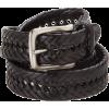 Tommy Hilfiger Mens Braided Belt Black - Belt - $22.40
