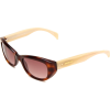 Tommy Hilfiger Women's TH1088S Cat Eye Sunglasses Havana Frame/Brown Gradient Lens - Sunglasses - $79.49