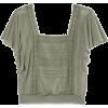 Top - Camisa - curtas -