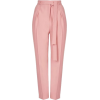 Topshop Belted Crepe Peg Trousers - Capri & Cropped -