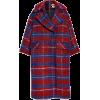 Topshop - Check coat - Jacket - coats - $300.00