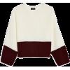 Topshop - Colour block jumper - プルオーバー - $65.00  ~ ¥7,316