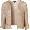Topshop Knitted Bead Jacket - Jacket - coats -