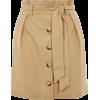 Topshop Tan Skirt - Gonne -