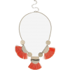 Topshop Tassel and Shape Collar Necklace - Necklaces - £16.50  ~ $21.71