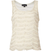Topshop white top - Tanks -