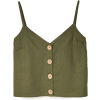 Top with buttons - Tanks - £17.99  ~ ¥158.60