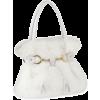 Torba Clutch bags White - Torbe s kopčom -