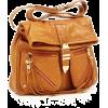 Torba Clutch bags Brown - Borse con fibbia -