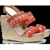 Tori Burch sandals - 坡跟鞋 -
