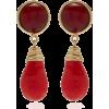 Tory Burch Drop Stone Earrings - Earrings -