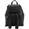 Tory Burch Fleming Mini Quilted Leather - Backpacks -