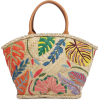 Tory Burch Leaf Straw Tote - Сумочки -
