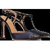 Tory Burch METAL-TOE T-STRAP PUMP - Classic shoes & Pumps -