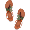 Tory Burch palm tree sandals - Sandals -