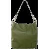 Tosca Classic Shoulder Handbag Dark Olive - Hand bag - $39.95