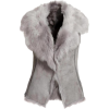 Toscana Sheepskin Gilet - Uncategorized -
