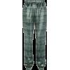 Track Striped Trousers - Leggings -