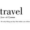 Travel text - Testi -