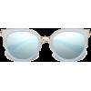 Trendy Stylish Colorful Lenses Sunglasse - Flats - $12.24