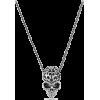Tribal Skull Necklace #ornamental #skull - Collares - $45.00  ~ 38.65€
