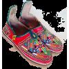Tribal embroidered berber shoes - Mocasines -