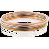 Tri-colour bangle bracelets Set - Bracelets -