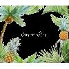 Tropical Leaves Frame - Frames -