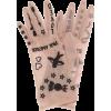Tulle Long Gloves - Перчатки -