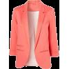 Turndown Collar Blazer - Chaquetas - $28.00  ~ 24.05€