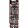 Tweed Wide Leg Trousers - Pantalones Capri -
